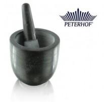 """Grūstuvė iš juodojo marmuro """"Peterhof"""""""