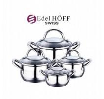 8 Dalių Puodų Rinkinys EDEL HOFF SWISS