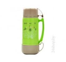 MAYER & BOCH Termosas 1L plastmasinis korpusas, stikline kolba + 2 puodeliai 22601
