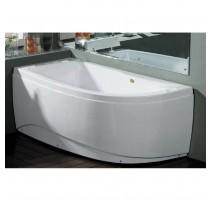 Akrilinė vonia B1680 kairinė 160cm empty 1600x800x620