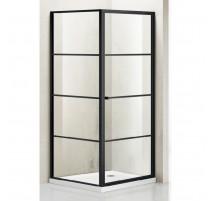 Dušo kabina G1221 800X800X1950 skaidri (tik stiklai)
